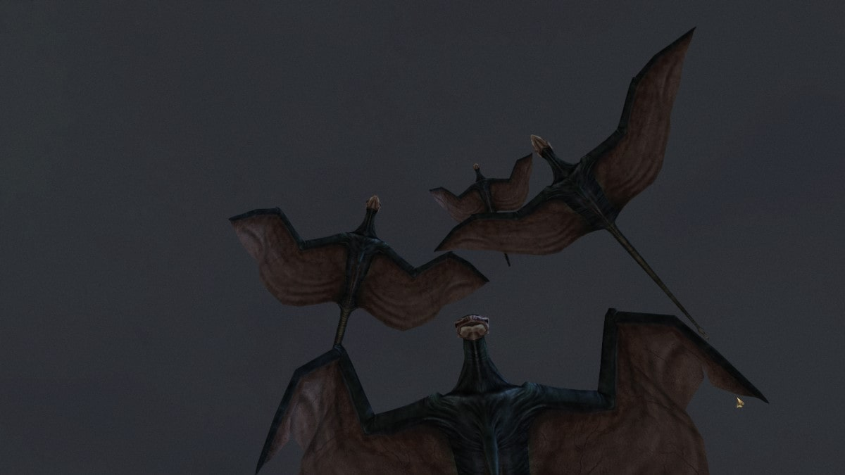 Saint-Jiub deliver us: cliffracers, the scourge of Vvardenfell